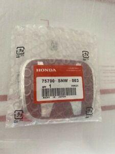 1x003 Honda 06-15 Civic 4DR Sedan FiT JDM RED H Type R Front Emblem badge logo