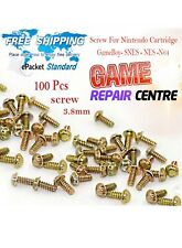 100 Pcs Screws 3.8mm For Nintendo Cartridge Game Case SNES NES N64 GameBoy Lot