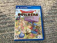 PS VITA Dragon Quest Builders Arefugarudo japan game