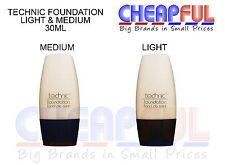Technic Foundation Light or Medium 30ml