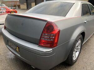 CHRYSLER 300C 2006 Startech Spoiler Saloon Rear Boot Lid Grey 3.0 Crd V6