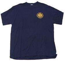 SOFFE US NAVY Religious Program Specialist Men's Blue T-Shirt Cotton Size L NWT