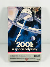 MGM Stanley Kubrick's 2001: a space odyssey VHS Big Box CLEAN