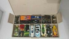 Lot #314 Pit Box w/1:64 Scale Slot Car Bodies Chassis & Parts
