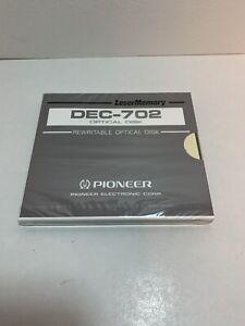 Pioneer DEC-702 650MB Rewritable RW MO optical disks
