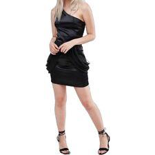 Jasmine London Women Size US 8 UK12 Black One Shoulder Prom Formal Dress