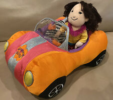 2003 Manhattan Toy Groovy Girls Colorful Convertible Cloth Car & SHIKA Doll