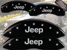"2008-2012 ""Jeep"" Liberty Front + Rear Black MGP Brake Disc Caliper Covers"