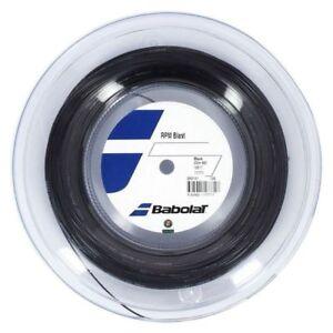 New BabolaT RPM BLAST 125/17 200M Reel Tennis string Black  France