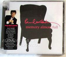 PAUL McCARTNEY - MEMORY ALMOST FULL - CD Sigillato