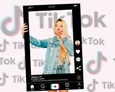Real Life Tik Tok Selfie Frame Instagram Facebook Props, 600x900mm