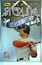 "2014  TOPPS    ""FINEST""   STERLING  #TS-GS  GIANCARLO STANTON"