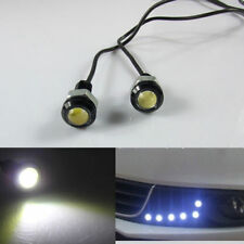 2 pcs LED Lampe Ampoule Eclairage Lumière Blanc pour Auto Moto 12V 3W
