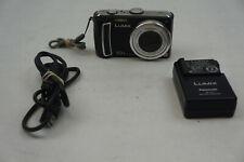 Panasonic LUMIX DMC-TZ5 9.1MP Digital Camera - Black w/ extras