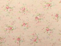 Cottage Shabby Chic Quilt Gate RURU Love Rose Love RU2300-15B Pink w/Script