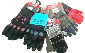 FLY RACING 2021 F-16 Motocross MX Gloves Various Colors and Sizes 2-12, Y2XS-2X