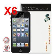 6x Apple Iphone 5 5S Anti-glare, Anti-scratch, Anti-fingerprint, Matte Finishing