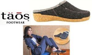 Taos Footwear slippers comfort wool clogs Taos Shoes Spain Wool Do