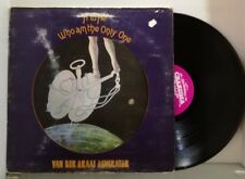 LP VAN DER GRAAF GENERATOR - H To he woh am the only one RARE UK PRESS