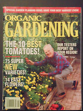 Organic Gardening Magazine January 1995 Best tomatoes easy flowers varieties