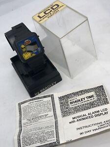 Star Wars Vintage 1982 Bradley Musical Alarm Watch Lucasfilm Hong Kong With Case