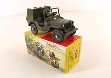 Dinky Toys F n° 828 Jeep Porte-Fusées SS 10 neuf en boîte avec rabat revendeur