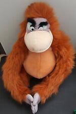 Disney Jungle Book King Louie Monkey Clasp Hand Orangutan Plush Stuffed Animal