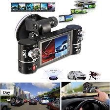 "F600 2.7"" Dual Lens HD Car Camera Camcorder Vehicle DVR Dash Cam Video Recorder"