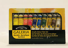 Windsor and Newton Acrylic Paint Tubes 10x20ml New In Box