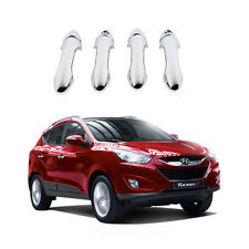 New Chrome Door Handle Cover Moulding Set for Hyundai Tucson iX35 2011-2013 K483