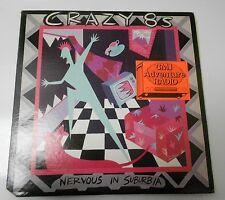 1985 Crazy 8's LP Nervous In Suburbia Red Rum C8S-4012 EX/VG w/ Insert SKA