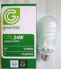 24W Bright White 5000K CFL Bulb 100W Incandescent Equal Household Light Bulb
