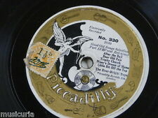 78rpm EVER BRIGHT BOYS good old songs selection , piccadilly 330