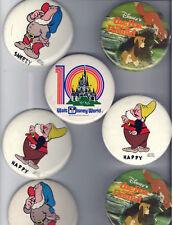 7 old pins DISNEY