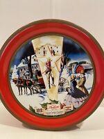 """1996 DeLux fruitcake Tin Collin Street Bakery Corsicana TX USA 7.25"""""""