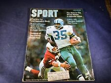 S3-100 SPORT MAGAZINE - JANUARY 1970 - CALVIN HILL DALLAS COWBOYS