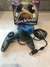 Microsoft Sidewinder Game Pad For Windows 98 Wired USB Plug & Play Pre Owned