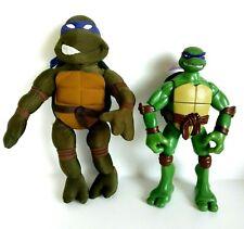 Teenage Mutant Ninja Turtles TMNT Large Plush & Big Mouth Talkin' Donatello Set