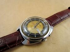 Mens watch SLAVA Mechanical ussr SOVIET RUSSIAN date and day