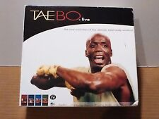 TAEBO Live Fitness Program 4-Pc VHS Set
