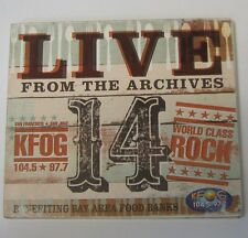 KFOG:Live From The Archives 14 (CD 2007) Doe Calexico Shins Jim James Franti