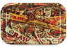 RAW Mix Metal Rolling Tray Rolling Paper Collage Logo~New Release~11x7