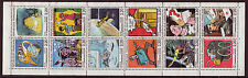 FRANCE 1988 COMMUNICATIONS PANE OF 12 FINE USED