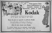 PUBLICITÉ DE PRESSE 1922 KODAK BAISSE LES PRIX SUR APPAREILS ET PELLICULES
