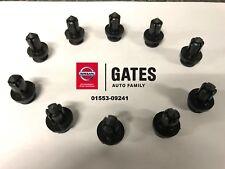 OEM Nissan/Infiniti Bumper/Fender Push Clip Replacement *Bag of 10* 01553-09241