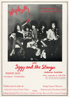 """Reproduction """"New York Dolls - Concert"""" Poster, Punk, New Wave, Wall Art"""