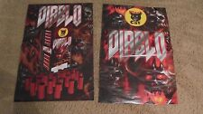 Diablo Black Cat Fireworks Posters (Variety Lot of 2) + King of the Block