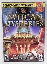 Lost Secrets Vatican Secrets & Bermuda Triangle PC Game **BULK LOT OF 25**