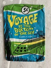 1965 Voyage to the Bottom of the Sea Vintage Donruss Wax Wrapper