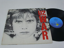 U2 War - PORTUGAL LP -  DACAPO 1986 REISSUE with new matrix and pressing date
